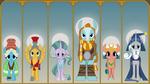 The Ancient Six by AmarthGul
