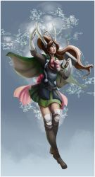 Sailor Jupiter!Thor by Erika-M-R