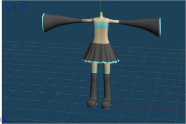 MMD wip h.m.o by Ina-C