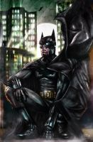 I'm Batman by Art-by-Jilani