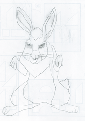 Watership Down: Bigwig by Chipster-roo