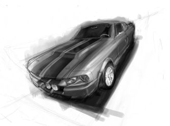 Muscle V8 designII GT500 by daviaugusto