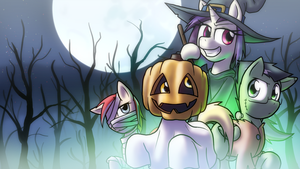 [October 2015 Wallpaper] Something Spooky by Zaron