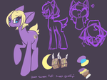 Dinkle Twinkle Reference sheet by nyfian