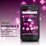 HTC Incredible S .PSD by zandog