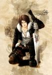 Squall leonhart by MCAshe