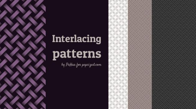 Subtle interlacing patterns by PajkaBajka