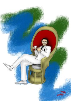 Mr. Roarke by Halowan