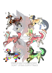 Adoptables || OTA (Closed) by irrelevantcommentary
