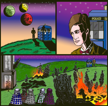 Doctor Who Ancient and Forever by Purebreedalien