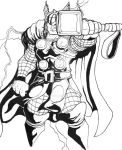 Thor sketch by Marvin000