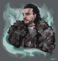 The King in the North by ruskiglon