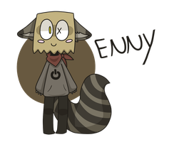 Enny - the raccoon by LN-Polar