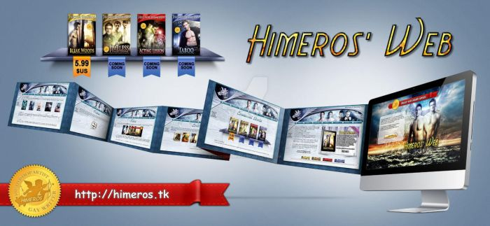 Himeros' Web Now Opens! by HectorHimeros