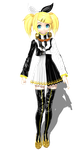 Project Diva Arcade Kagamine Rin Meltdown by johnjan11