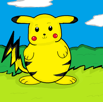 i found a old pikachu drawing hurray by mach03trek