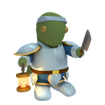 Tonberry Knight by SiverCat