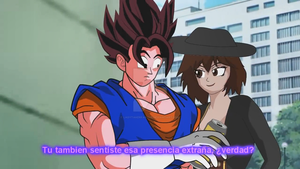 lady Taker and Vegetto by LadyTakerFandub