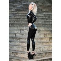 black catsuit by LauraDeluxe