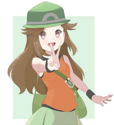 Super Smash Bros Ultimate - Trainer Leaf v2 by chocomiru02