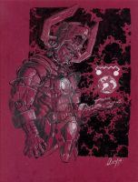 color Galactus by mistermoster