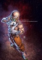 MASTER ROSHI color by marvelmania
