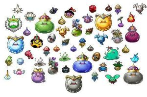 SLIMES by Dragon-Quest-Monster
