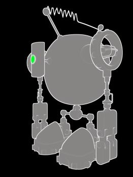 The Originally Named Big Robot by Mop-of-the-Bucket