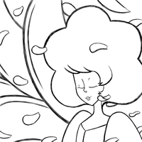 Pink Diamond: Floral Freedom -WIP- by Glitched-Irken
