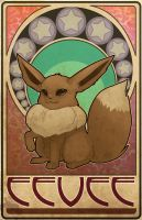 Eevee Nouveau by ASTROPUNCH
