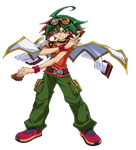 Yuya Sakaki Render by MarioFanProductions