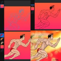 In Process: The Flash (Logo Briefs) by TumbledHeroes
