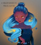 Draw This In Your Style Challenge : DestinyBlue by art-a-lotl