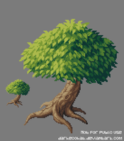 Pixel tree by DarkEcoKat