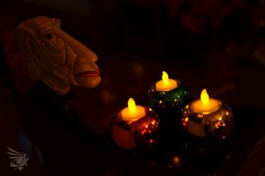 Candle Butler by calger459