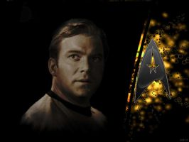 Star Trek--Captain Kirk by schematization