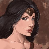 Daily Sketches Wonder Woman Dawn of Justice by fedde