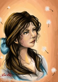 Belle portrait by Arashy-Chan