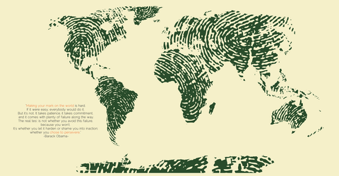 Fingerprint Map by Element-Spirits