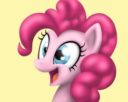 Pinkie Pie Excited (done-over) by carolynmaples