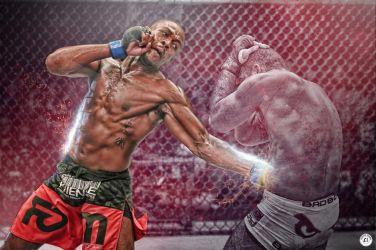 Rashad Evans Wallpaper by clgraphics
