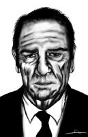 Tommy Lee Jones by Shasel