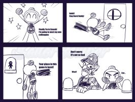 Bomberman in Smash by SailorBomber