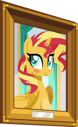 Princess Portrait Sunset Shimmer by Orin331