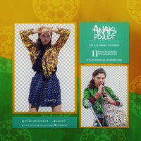 Anais Pouliot PNG Pack by eleganceuss
