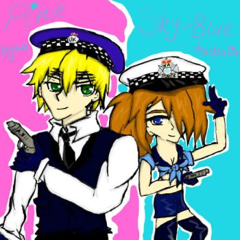 Australia and England- Colour Police! by Nightmaress1