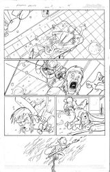 Page from Atomik Mike no.4 by iizzoe