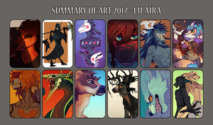 Summary Of Art 2017 by LiLaiRa