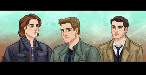Team Free Will (redo) by ggns