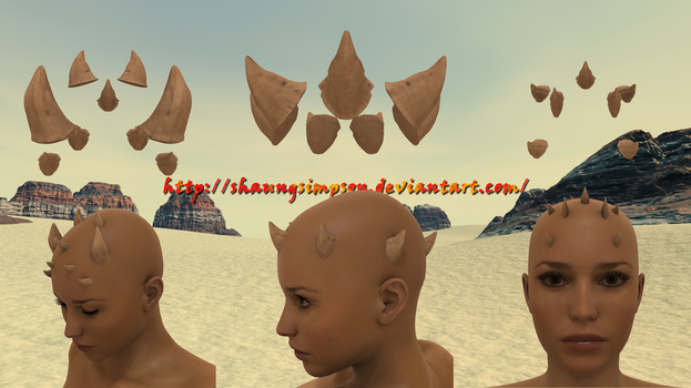 Shaun's Crown of Thorns - Pack 01 by shaungsimpson